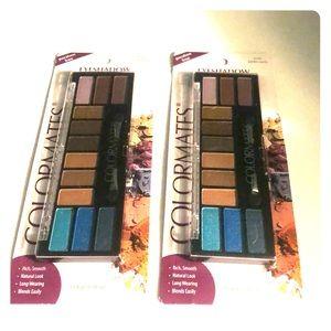 2 pack Color Mates makeup kits